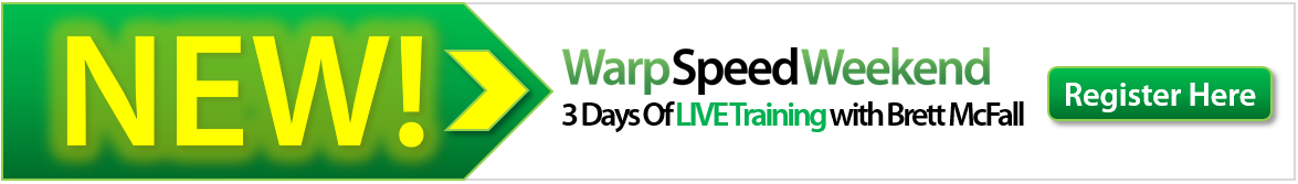 warpspeed weekend - learn internet marketing