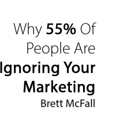 Why 55% of people are IGNORING your marketing