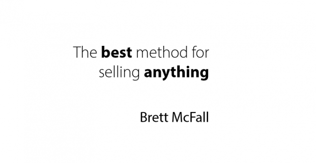 The Best Method For Selling Anything