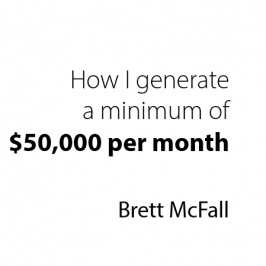 How I generate a minimum of $50K per month in 10-hour a week